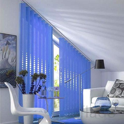 Модели вертикальных жалюзи для эркернных окон