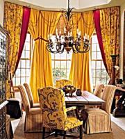 эксклюзивные шторы в столовую