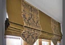 Пошив римских штор по индивидуальным размерам