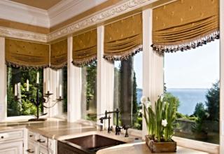 Индивидуальный дизайн и пошив штор