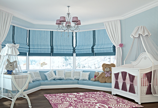 Римские шторы для детской комнаты