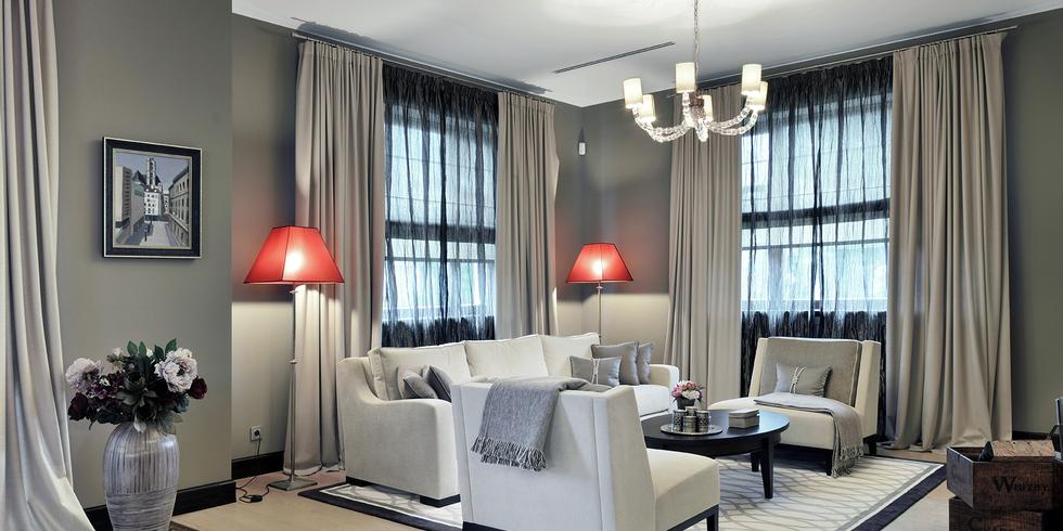 Современный стиль в шторах. Дизайн и пошив штор, покрывал и текстильных аксессуаров в Москве.